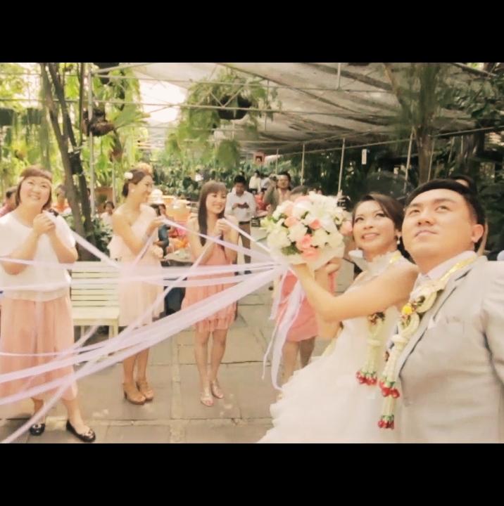 ถ่ายVDO MVแต่งงาน wedding presentation บ้านก้ามปู
