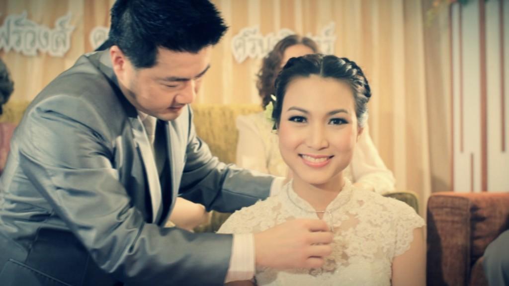 ถ่ายVDO MVแต่งงาน wedding presentation โรงแรม โฟร์วิงส์ LT & KK