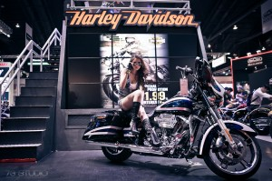 ถ่ายภาพงาน event Motor Show 2014