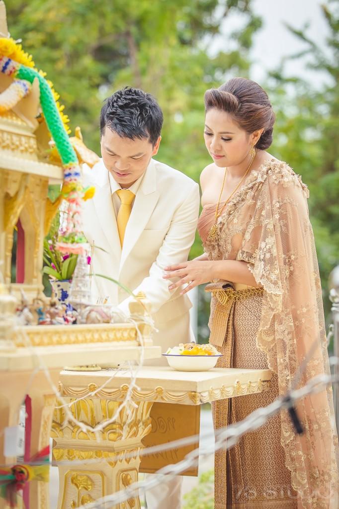 ช่างภาพ พิธีงานแต่งงานเช้า