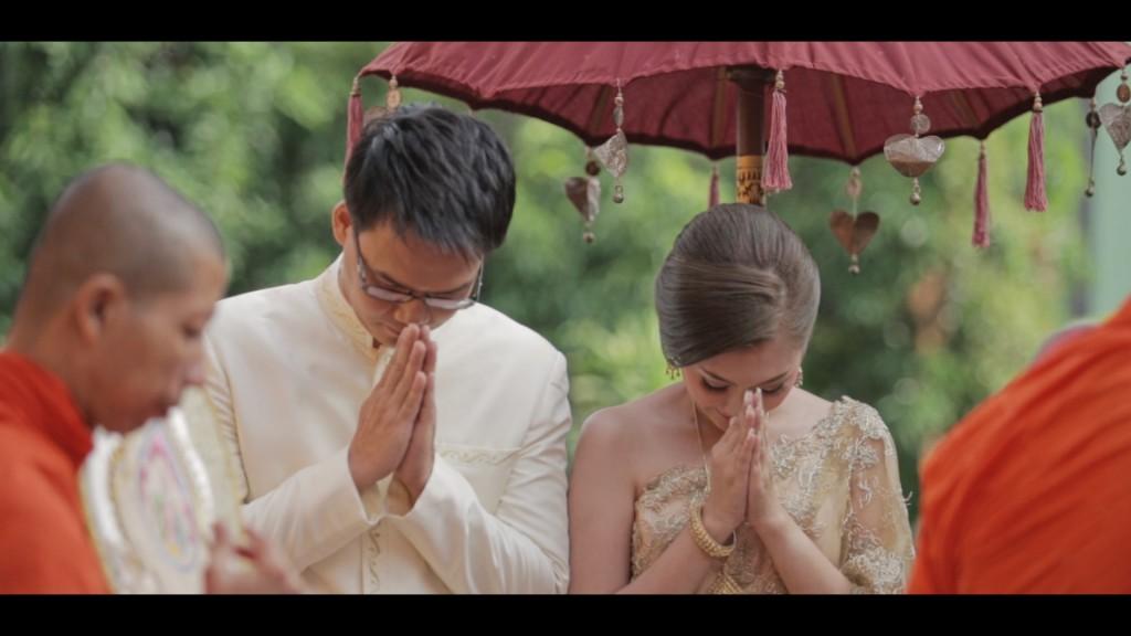 ถ่ายวีดีโอ งานแต่งงาน Wedding Cinema Nook & Jack เรือนไทย สุขุมวิท 50